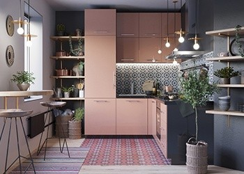 L Shape Modular Kitchen in Salem